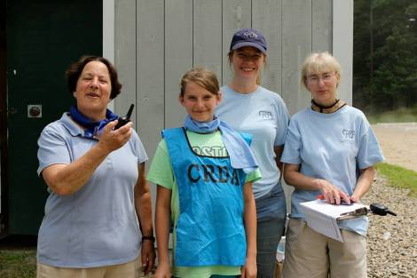 CRDA volunteers share a passion for dressage!